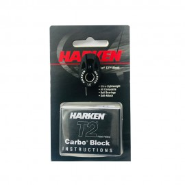 Harken Narrow Carbo T2 Head block18mm