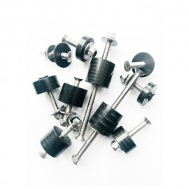 Set for ligting Traveller incl. RVS bolts